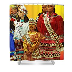 Beauties Grand Entrance Shower Curtain