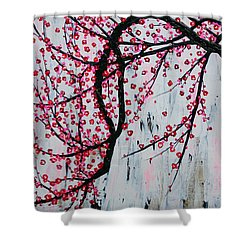 Beautiful Blossoms Shower Curtain by Natalie Briney