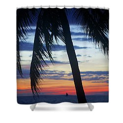 Beautiful Boracay Sunset Shower Curtain