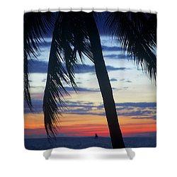 Beautiful Boracay Sunset Shower Curtain