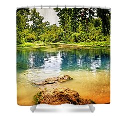 Shower Curtain featuring the photograph Beautiful Boze Mill Spring by Marty Koch