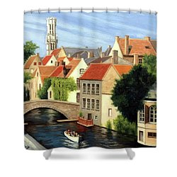 Beautiful Bruges Shower Curtain