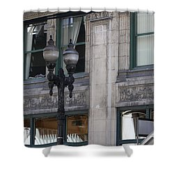 Beautiful Chicago Gothic Grunge Shower Curtain