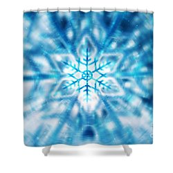 Beautiful Christmas Background Shower Curtain