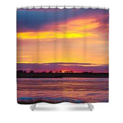 Beautiful Colorful Boulder County Winter Morning Shower Curtain by James BO  Insogna
