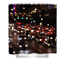 Shower Curtain featuring the photograph Beautiful Congestion by Eric Christopher Jackson