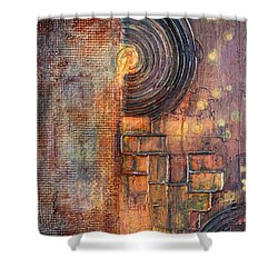 Beautiful Corrosion Shower Curtain