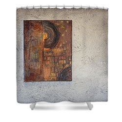 Beautiful Corrosion Too Shower Curtain