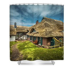 Beautiful Cottage Shower Curtain by Eva Lechner