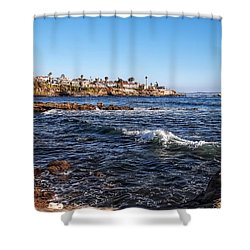 Beautiful Day In La Jolla Shower Curtain