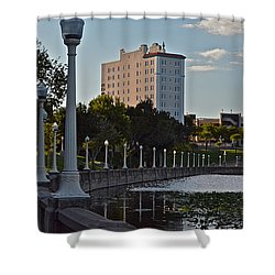 Beautiful Downtown Lakeland Shower Curtain