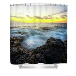 Shower Curtain featuring the photograph Beautiful Ending by Ryan Manuel