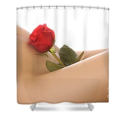 Beautiful Female Body Shower Curtain