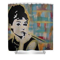 Beautiful Hepburn Shower Curtain