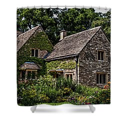 Shower Curtain featuring the photograph Beautiful Home by Joann Copeland-Paul