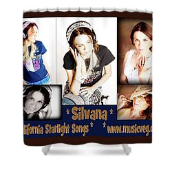 Beautiful Images Of Hot Photo Model Shower Curtain by Silvana Vienne