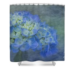 Beautiful In Blue Shower Curtain