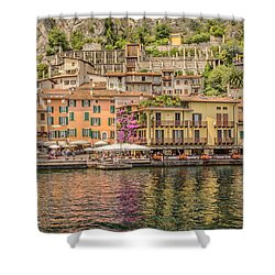 Shower Curtain featuring the photograph Beautiful Italy by Roy McPeak