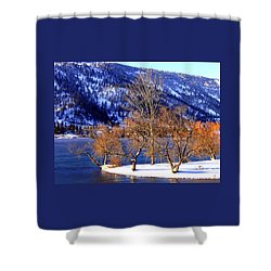 Shower Curtain featuring the photograph Beautiful Kaloya Park by Will Borden