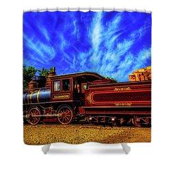 Beautiful Locomotive Glenbrook Shower Curtain