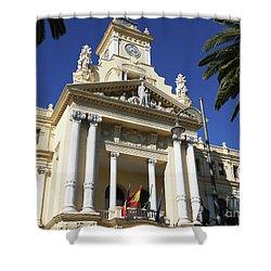 Beautiful Malaga City Hall Shower Curtain