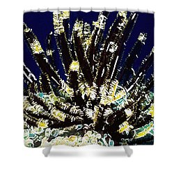Beautiful Marine Plants 10 Shower Curtain by Lanjee Chee