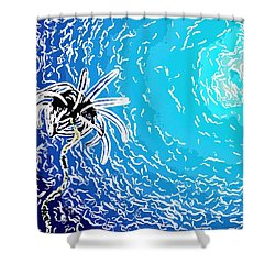 Beautiful Marine Plants 2 Shower Curtain by Lanjee Chee