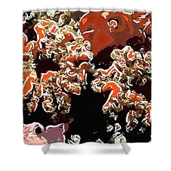 Beautiful Marine Plants 5 Shower Curtain by Lanjee Chee