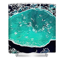 Beautiful Marine Plants 6 Shower Curtain by Lanjee Chee