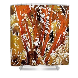 Beautiful Marine Plants 8 Shower Curtain by Lanjee Chee