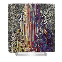 Beautiful Meltdown Shower Curtain