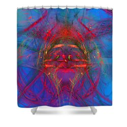 Beautiful Minds Shower Curtain