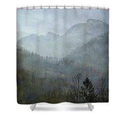 Beautiful Mist Shower Curtain by AugenWerk Susann Serfezi