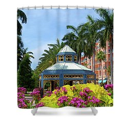 Beautiful Mizner Park In Boca Raton, Florida. #3 Shower Curtain