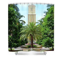 Beautiful Mizner Park In Boca Raton, Florida. #5 Shower Curtain
