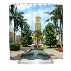 Beautiful Mizner Park In Boca Raton, Florida. #6  Shower Curtain