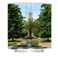 Beautiful Mizner Park In Boca Raton, Florida. #7 Shower Curtain