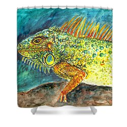 Beautiful Monster Shower Curtain