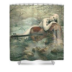 Beautiful Music Shower Curtain
