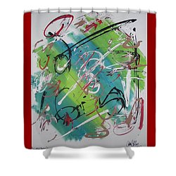 Beautiful Noise Shower Curtain