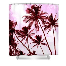 Beautiful Palms Of Maui 13 Shower Curtain by Micah May