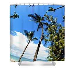 Shower Curtain featuring the photograph Beautiful Palms Of Maui 17 by Micah May