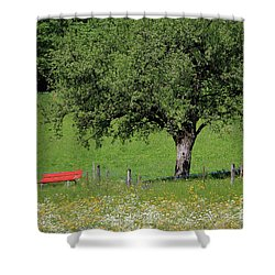 Beautiful Place To Sit Shower Curtain