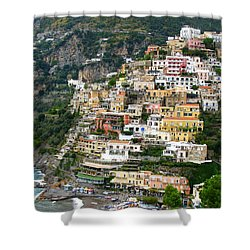 Beautiful Positano Shower Curtain