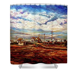 Beautiful Prince Edward Island Maritime Canada Shower Curtain by Carole Spandau