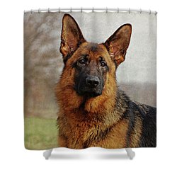 Shower Curtain featuring the photograph Beautiful Raven by Sandy Keeton