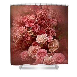 Beautiful Roses 2016 Shower Curtain by Richard Cummings