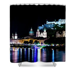 Shower Curtain featuring the photograph Beautiful Salzburg by David Morefield