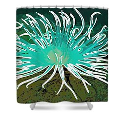 Beautiful Sea Anemone 2 Shower Curtain by Lanjee Chee