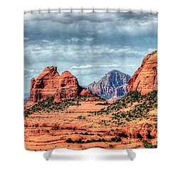 Shower Curtain featuring the photograph Beautiful Sedona Az by Tom Prendergast
